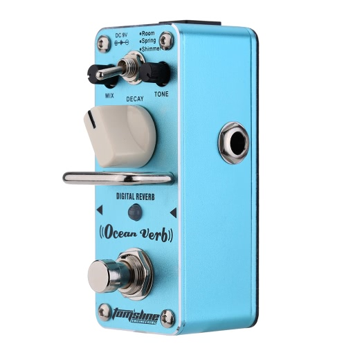 AROMA AOV-3 Ocean Verb Digital Reverb Electric Guitar Effect Pedal Mini Single Effect with True BypassToys &amp; Hobbies<br>AROMA AOV-3 Ocean Verb Digital Reverb Electric Guitar Effect Pedal Mini Single Effect with True Bypass<br>