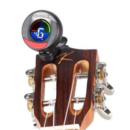 ammoon AT-05 Rotatable Digital Electronic Clip-On Tuner LCD Color Screen for Guitar Bass Chromatic Violin UkuleleToys &amp; Hobbies<br>ammoon AT-05 Rotatable Digital Electronic Clip-On Tuner LCD Color Screen for Guitar Bass Chromatic Violin Ukulele<br>