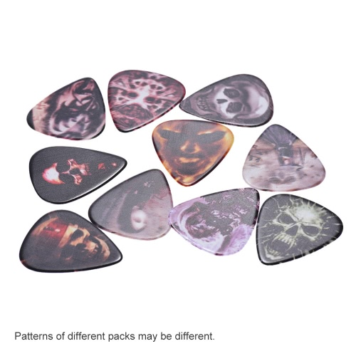 Alice AP-10R1 10pcs/pack Single-sided Color Printing Celluloid Guitar Picks Plectrum Skull SeriesToys &amp; Hobbies<br>Alice AP-10R1 10pcs/pack Single-sided Color Printing Celluloid Guitar Picks Plectrum Skull Series<br>