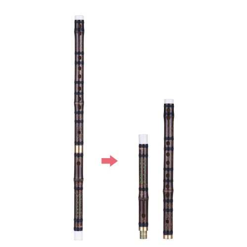 Pluggable Handmade Bitter Bamboo Flute/Dizi Traditional Chinese Musical Woodwind Instrument in F Key for Beginner Study LevelToys &amp; Hobbies<br>Pluggable Handmade Bitter Bamboo Flute/Dizi Traditional Chinese Musical Woodwind Instrument in F Key for Beginner Study Level<br>