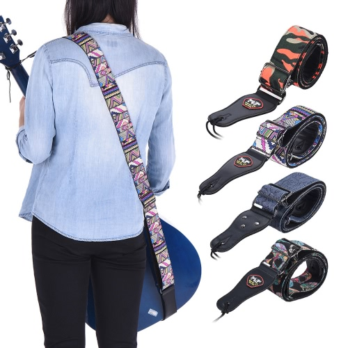 Adjustable Guitar Shoulder Strap with Pick Pocket for Acoustic Folk Classical Electric Guitar Bass Geometric FigureToys &amp; Hobbies<br>Adjustable Guitar Shoulder Strap with Pick Pocket for Acoustic Folk Classical Electric Guitar Bass Geometric Figure<br>