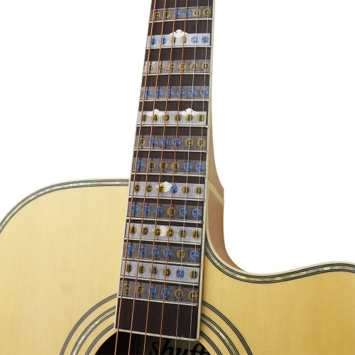 Fretboard Fingerboard Frets Note Decals Map Sticker 24 FretsToys &amp; Hobbies<br>Fretboard Fingerboard Frets Note Decals Map Sticker 24 Frets<br>
