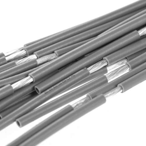 20pcs Shielded Guitar Circuit Wire Cable Single Conductor for Electric Guitar 51cm / 20in GreyToys &amp; Hobbies<br>20pcs Shielded Guitar Circuit Wire Cable Single Conductor for Electric Guitar 51cm / 20in Grey<br>