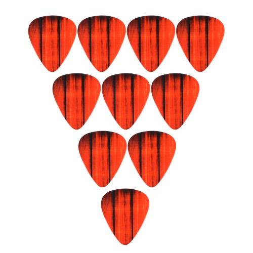 10pcs 0.71mm Guitar Picks Plectrums Stringed Musical Instrument Accessories Wood GrainToys &amp; Hobbies<br>10pcs 0.71mm Guitar Picks Plectrums Stringed Musical Instrument Accessories Wood Grain<br>