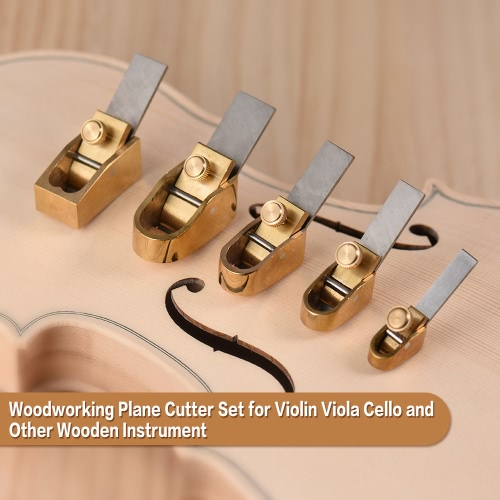 5pcs Woodworking Plane Cutter Set Curved Sole Metal Brass Luthier Tool for Violin Viola Cello Wooden InstrumentToys &amp; Hobbies<br>5pcs Woodworking Plane Cutter Set Curved Sole Metal Brass Luthier Tool for Violin Viola Cello Wooden Instrument<br>