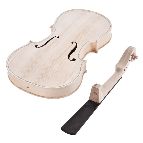 DIY 4/4 Full Size Natural Solid Wood Acoustic Violin Fiddle Kit Spruce Top Maple Back Neck Ebony Wood Fingerboard Accessory TailpiToys &amp; Hobbies<br>DIY 4/4 Full Size Natural Solid Wood Acoustic Violin Fiddle Kit Spruce Top Maple Back Neck Ebony Wood Fingerboard Accessory Tailpi<br>
