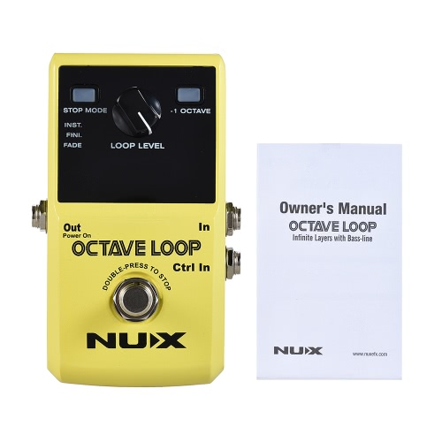 NUX OCTAVE LOOP Guitar Loop PedalToys &amp; Hobbies<br>NUX OCTAVE LOOP Guitar Loop Pedal<br>