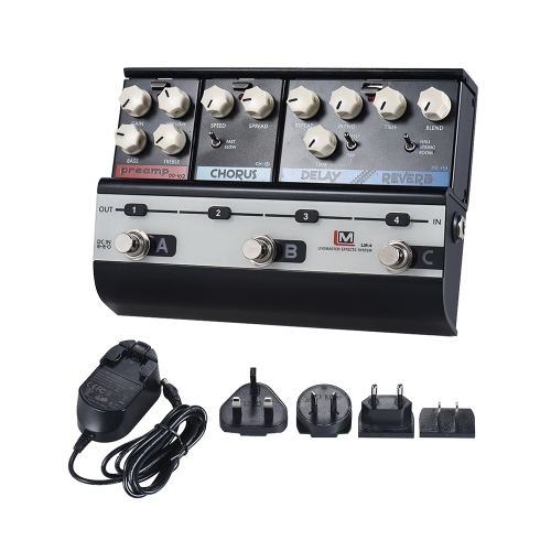 BIYANG LiveMaster Series LM-4 Mainframe Unit Blues Style Set with 3 Guitar Effect PedalsToys &amp; Hobbies<br>BIYANG LiveMaster Series LM-4 Mainframe Unit Blues Style Set with 3 Guitar Effect Pedals<br>