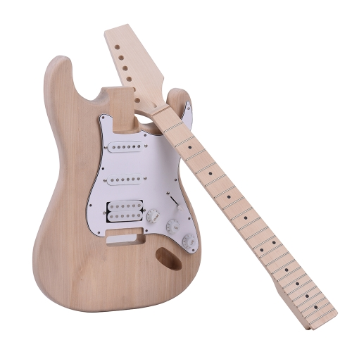 ammoon ST Style Unfinished DIY Electric Guitar KitToys &amp; Hobbies<br>ammoon ST Style Unfinished DIY Electric Guitar Kit<br>