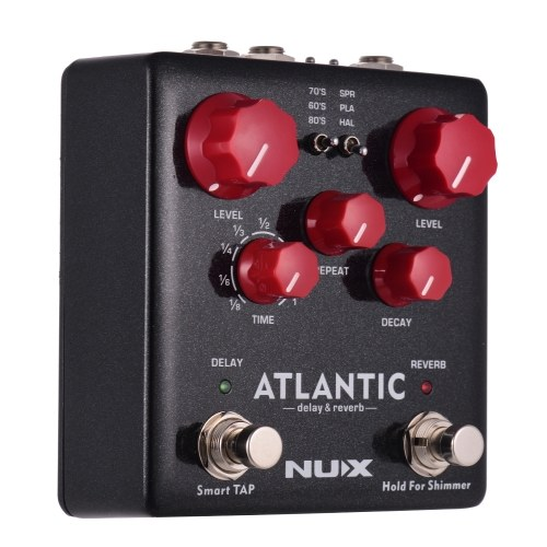 NUX ATLANTICディレイ&リバーブギターエフェクトペダル