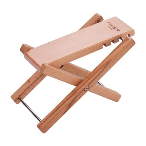 フランジャーFA-80W折りたたみ木製ギター足レストフットスツールフットレストペダル