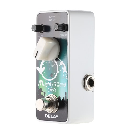 Mighty Sound M5 Mini Delay Electric Guitar Effect Pedal True BypassToys &amp; Hobbies<br>Mighty Sound M5 Mini Delay Electric Guitar Effect Pedal True Bypass<br>