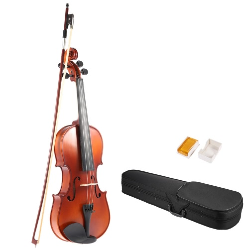 ammoon 1/4 Solid Wood Antique Violin Fiddle Matte Finish Spruce Face Board with Hard Case Bow RosinToys &amp; Hobbies<br>ammoon 1/4 Solid Wood Antique Violin Fiddle Matte Finish Spruce Face Board with Hard Case Bow Rosin<br>