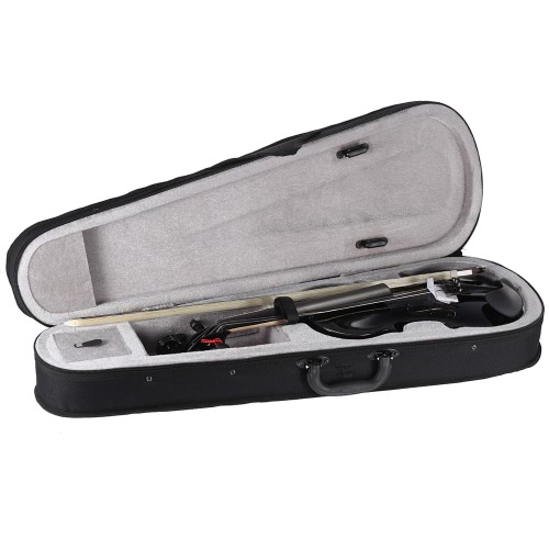 ammooon 1/2 Student Violin Metallic Black Equipped with Steel String w/ Arbor Bow + Case for Beginners Music LoversToys &amp; Hobbies<br>ammooon 1/2 Student Violin Metallic Black Equipped with Steel String w/ Arbor Bow + Case for Beginners Music Lovers<br>
