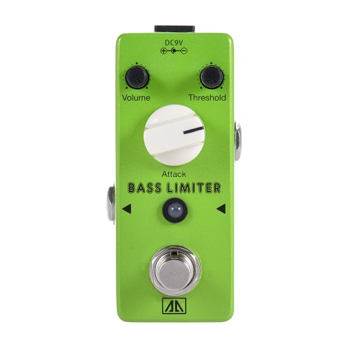 AROMA ABL-5 Mini Bass Limiter Electric Bass Guitar Effect Pedal Aluminum Alloy Body True BypassToys &amp; Hobbies<br>AROMA ABL-5 Mini Bass Limiter Electric Bass Guitar Effect Pedal Aluminum Alloy Body True Bypass<br>