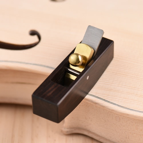 Flat Bottom Woodworking Plane Cutter Ebony Luthier Tool for Violin Viola Cello Wooden InstrumentToys &amp; Hobbies<br>Flat Bottom Woodworking Plane Cutter Ebony Luthier Tool for Violin Viola Cello Wooden Instrument<br>