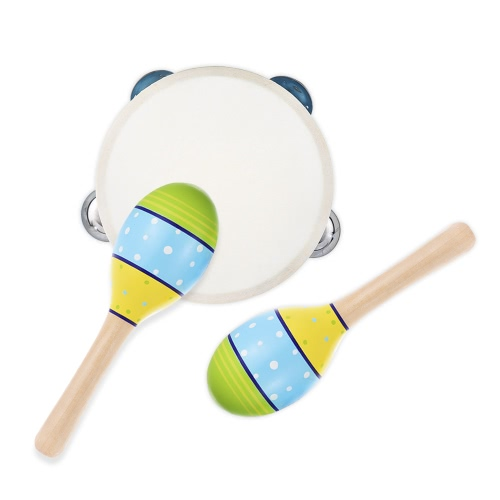 Musical Instruments Percussion Toy Rhythm Band SetToys &amp; Hobbies<br>Musical Instruments Percussion Toy Rhythm Band Set<br>