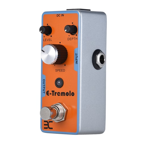 ENO EX Electric Guitar Tremolo Effect Pedal Full Metal Shell True BypassToys &amp; Hobbies<br>ENO EX Electric Guitar Tremolo Effect Pedal Full Metal Shell True Bypass<br>