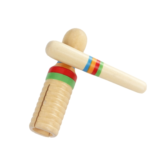 Colorful Wooden Crow Sounder Wood Guiro Kids Children Musical Toy Persussion InstrumentToys &amp; Hobbies<br>Colorful Wooden Crow Sounder Wood Guiro Kids Children Musical Toy Persussion Instrument<br>