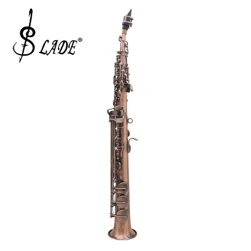LADE WSS-899 Professional Red Bronze Straight Bb Soprano Saxophone Sax Woodwing Instrument Abalone Shell Key  Carve Pattern with CToys &amp; Hobbies<br>LADE WSS-899 Professional Red Bronze Straight Bb Soprano Saxophone Sax Woodwing Instrument Abalone Shell Key  Carve Pattern with C<br>