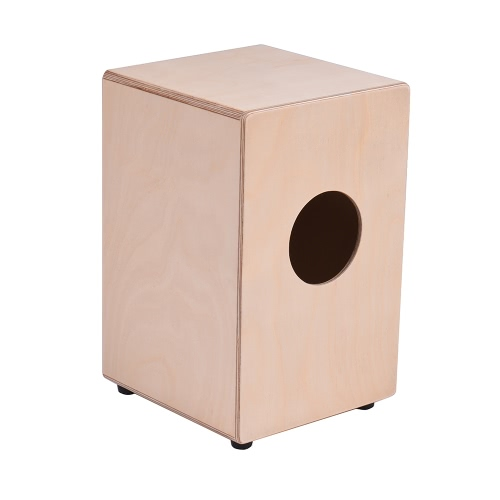 ammoon Wooden Cajon Box Drum Hand Drum Persussion Instrument Birch Wood with Adjustable Strings Carrying Bag for Children KidsToys &amp; Hobbies<br>ammoon Wooden Cajon Box Drum Hand Drum Persussion Instrument Birch Wood with Adjustable Strings Carrying Bag for Children Kids<br>