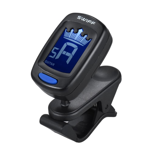 Clip-On Automatic Digital Electronic Crown Tuner LCD Display for Guitar Chromatic Bass Ukulele ViolinToys &amp; Hobbies<br>Clip-On Automatic Digital Electronic Crown Tuner LCD Display for Guitar Chromatic Bass Ukulele Violin<br>