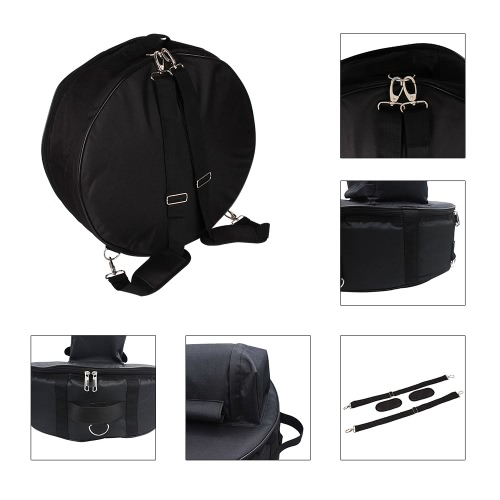 14in Snare Drum Stainless Steel Drum Body Transparent PVC Drumhead with Case Sticks Gloves Shoulder Strap for Student ProfessionalToys &amp; Hobbies<br>14in Snare Drum Stainless Steel Drum Body Transparent PVC Drumhead with Case Sticks Gloves Shoulder Strap for Student Professional<br>