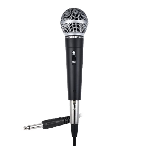 Professional Dynamic Moving-coil Vocal Handheld Microphone Cardioid with 16ft XLR-to-1/4 Detachable Cable for Karaoke Stage HomeToys &amp; Hobbies<br>Professional Dynamic Moving-coil Vocal Handheld Microphone Cardioid with 16ft XLR-to-1/4 Detachable Cable for Karaoke Stage Home<br>
