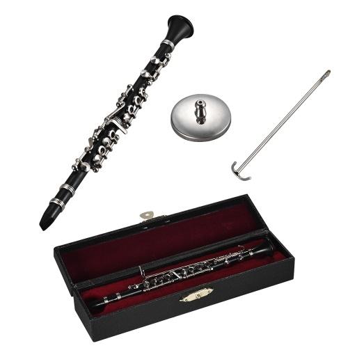 Mini Clarinet Model Exquisite Desktop Musical Instrument Decoration
