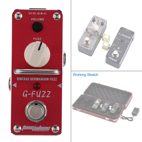 AROMA AGF-3 G-FUZZ Vintage Germanium Fuzz Guitar Effect Pedal Mini Analogue with True BypassToys &amp; Hobbies<br>AROMA AGF-3 G-FUZZ Vintage Germanium Fuzz Guitar Effect Pedal Mini Analogue with True Bypass<br>