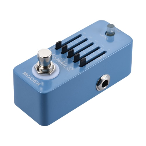 MOOER Graphic G Mini Guitar Equalizer Effect Pedal 5-Band EQ True Bypass Full Metal ShellToys &amp; Hobbies<br>MOOER Graphic G Mini Guitar Equalizer Effect Pedal 5-Band EQ True Bypass Full Metal Shell<br>