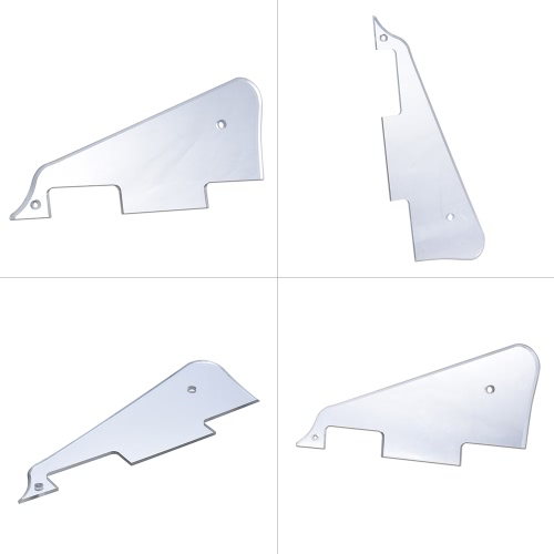 Electric Guitar Pickguard Scratch Plate for Gibson Les Paul Style Replacement Part Silver MirrorToys &amp; Hobbies<br>Electric Guitar Pickguard Scratch Plate for Gibson Les Paul Style Replacement Part Silver Mirror<br>
