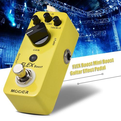 MOOER FLEX Boost Mini Boost Guitar Effect Pedal Wide Gain Range True Bypass Full Metal ShellToys &amp; Hobbies<br>MOOER FLEX Boost Mini Boost Guitar Effect Pedal Wide Gain Range True Bypass Full Metal Shell<br>