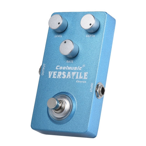 Electric Guitar Analog Chorus Effect Pedal True Bypass Full Metal ShellToys &amp; Hobbies<br>Electric Guitar Analog Chorus Effect Pedal True Bypass Full Metal Shell<br>