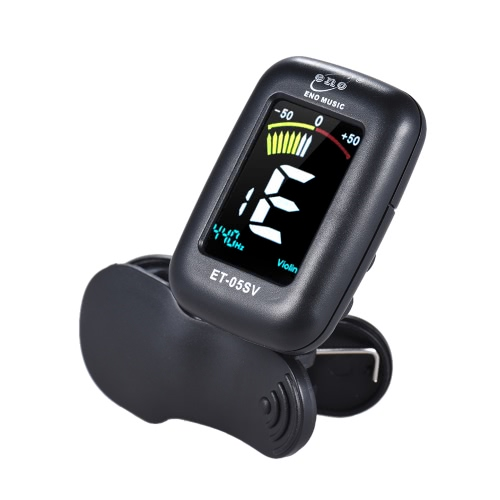 eno ET-05SV Professional Clip-on Tuner Automatic Tuning Mode with Colorful LCD Display for Violin Viola Cello Double Bass ChromatiToys &amp; Hobbies<br>eno ET-05SV Professional Clip-on Tuner Automatic Tuning Mode with Colorful LCD Display for Violin Viola Cello Double Bass Chromati<br>