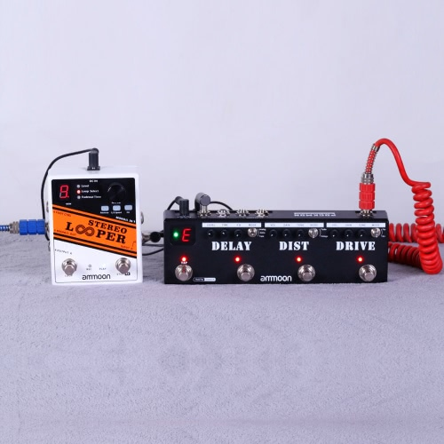ammoon STEREO LOOPER Loop Record Guitar Effect Pedal 10 Independent Loops MaxToys &amp; Hobbies<br>ammoon STEREO LOOPER Loop Record Guitar Effect Pedal 10 Independent Loops Max<br>