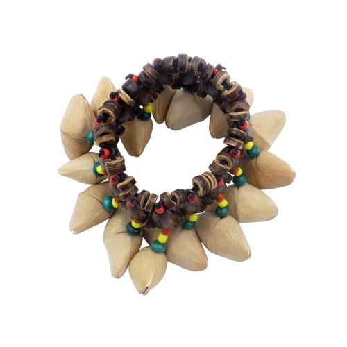 Handmade Nuts Shell Bracelet Handbell