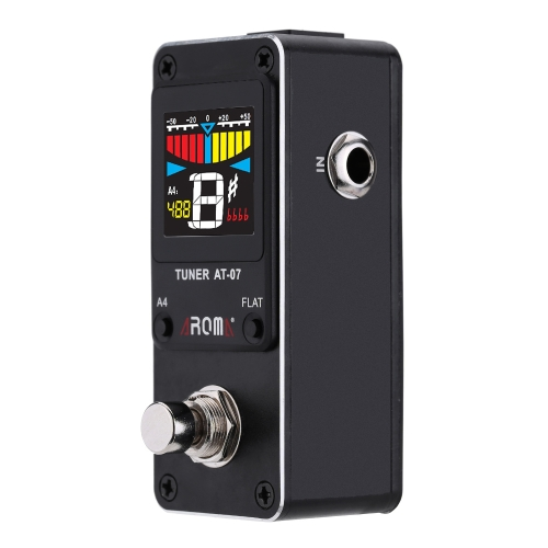 AROMA AT-07 Mini Chromatic Tuner Effect Pedal Mini Single Electric Guitar EffectsToys &amp; Hobbies<br>AROMA AT-07 Mini Chromatic Tuner Effect Pedal Mini Single Electric Guitar Effects<br>
