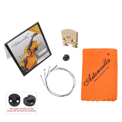Violin 4 in 1 Set of Strings/Rubber Mute/Maple 4/4 Bridge/Cleaning Cloth Accessories Parts Replace ToolToys &amp; Hobbies<br>Violin 4 in 1 Set of Strings/Rubber Mute/Maple 4/4 Bridge/Cleaning Cloth Accessories Parts Replace Tool<br>