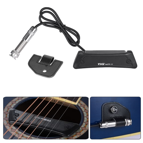 High Quality Passive Magnetic Soundhole Pickup Pick-up Single Coil for Folk GuitarToys &amp; Hobbies<br>High Quality Passive Magnetic Soundhole Pickup Pick-up Single Coil for Folk Guitar<br>