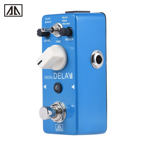 AROMA APE-5 Digital Delay Guitar Effect Pedal 3 Modes Dealy Effects Aluminum Alloy Body True BypassToys &amp; Hobbies<br>AROMA APE-5 Digital Delay Guitar Effect Pedal 3 Modes Dealy Effects Aluminum Alloy Body True Bypass<br>