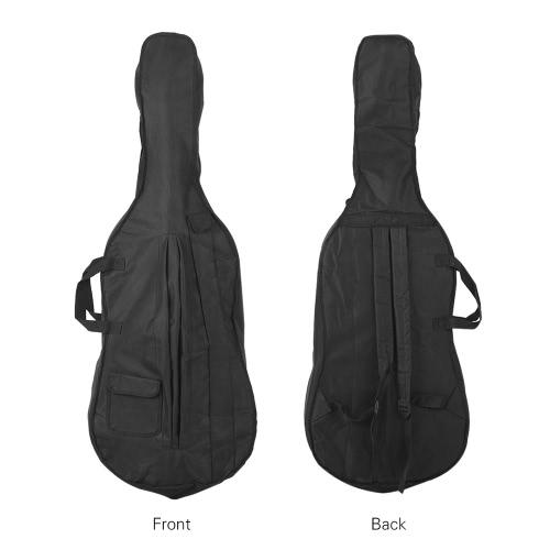 Portable 4/4 &amp; 3/4 Cello Gig Carrying Bag Case Backpack Adjustable Shoulder Strap BlackToys &amp; Hobbies<br>Portable 4/4 &amp; 3/4 Cello Gig Carrying Bag Case Backpack Adjustable Shoulder Strap Black<br>