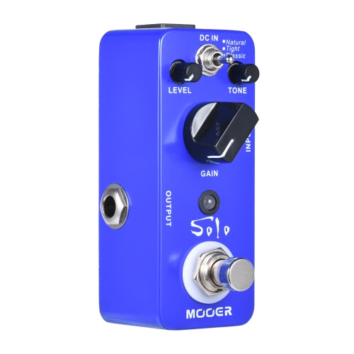 MOOER SOLO Distortion Guitar Effect Pedal High-gain True Bypass Full Metal ShellToys &amp; Hobbies<br>MOOER SOLO Distortion Guitar Effect Pedal High-gain True Bypass Full Metal Shell<br>