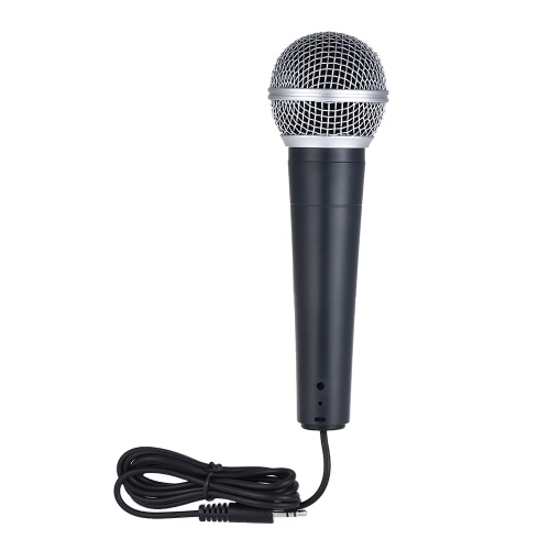 Professional Moving Coil Dynamic Wired Handheld Microphone Mic Unidirectional Cardioid Pattern 3.5mm Plug for Connecting Mobile PhToys &amp; Hobbies<br>Professional Moving Coil Dynamic Wired Handheld Microphone Mic Unidirectional Cardioid Pattern 3.5mm Plug for Connecting Mobile Ph<br>