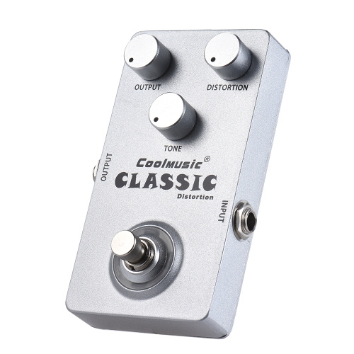 Electric Guitar Analog Distortion Effect Pedal True Bypass Full Metal ShellToys &amp; Hobbies<br>Electric Guitar Analog Distortion Effect Pedal True Bypass Full Metal Shell<br>