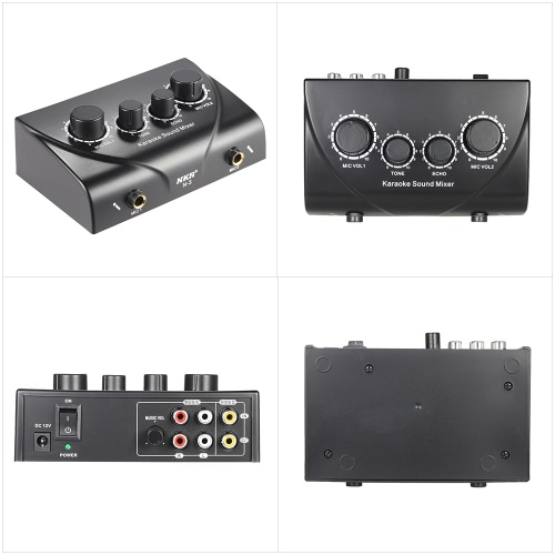 Karaoke Sound Mixer Dual Mic Inputs With CableToys &amp; Hobbies<br>Karaoke Sound Mixer Dual Mic Inputs With Cable<br>