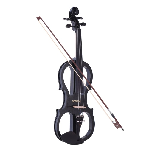ammoon Full Size 4/4 Solid Wood Electric Silent Violin Fiddle Style-1Toys &amp; Hobbies<br>ammoon Full Size 4/4 Solid Wood Electric Silent Violin Fiddle Style-1<br>