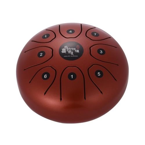 5.5 Inch Mini 8-Tone Steel Tongue Drum