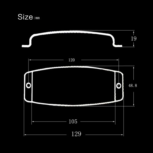 Steel Pickup Cover Protector for 4-string Jazz Bass Electric Bass Guitar Part Replacement GoldToys &amp; Hobbies<br>Steel Pickup Cover Protector for 4-string Jazz Bass Electric Bass Guitar Part Replacement Gold<br>