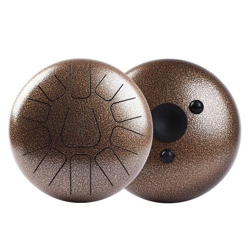 Tambour à tambour de handpan de tambour de langue d'acier de 10 pouces